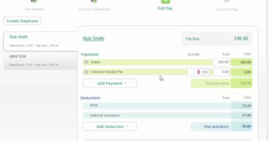 Sage One Payroll - Pay employees in advance 2