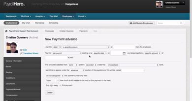 PayrollHero Payroll: Adding a Cash Advance to employee pay 2