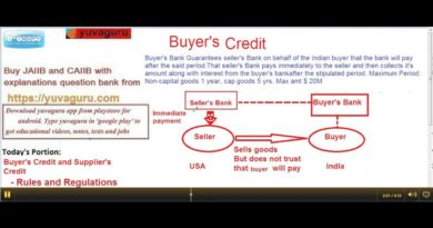 BUYER'S CREDIT AND SUPPLIER'S CREDIT MEANING BY VISHAL MANTRI 9960560404 4