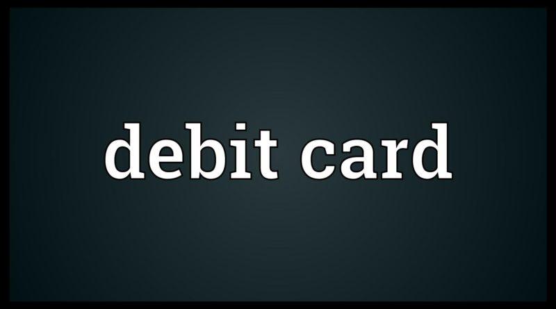 Debit card Meaning 1