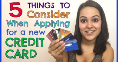 5 Things to Consider When Applying for a Credit Card 2