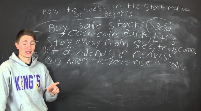 How to Invest in the Stock Market for Beginners 1