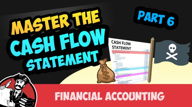 Cash Flow Statement: Investing and Financing Activities (Financial Accounting Tutorial #70) 4