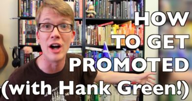6 Surprising Tips for Getting a Job Promotion (ft. Hank Green)! 3