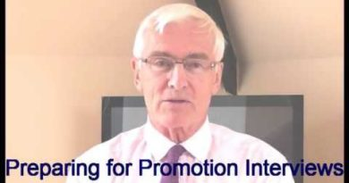 Promotion Interviews - Preparing for promotion interviews 3