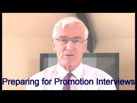 Promotion Interviews - Preparing for promotion interviews 1
