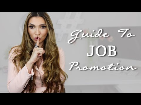 How To Get a Job PROMOTION 1