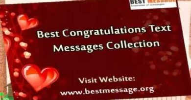 Sample Congratulations Messages | Congratulation Quotes & Wishes 4