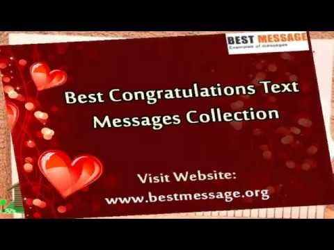 Sample Congratulations Messages | Congratulation Quotes & Wishes 1