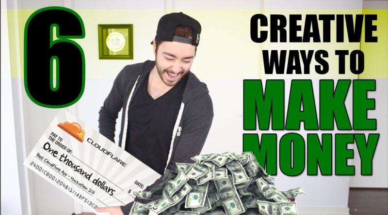 6 Creative Ways To Make Money 1