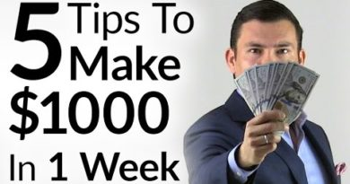 5 Tips To Make $1000 In 1 Week | Entrepreneur Mindset & Tactics To Increase Personal Income 3