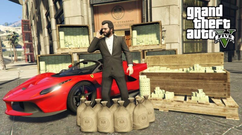 GTA 5 Real Life Mod #44 - BUYING A FERRARI & MAKING MONEY!! (GTA 5 Mods) 1