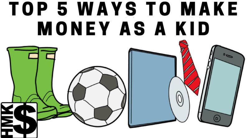 Top 5 Money Making Ideas For Kids 1