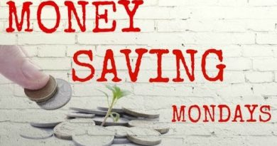 Money Saving Mondays #6 - Budget Planning & Money Saving Tips 3