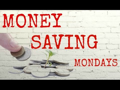Money Saving Mondays #6 - Budget Planning & Money Saving Tips 1