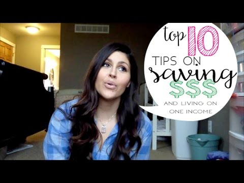 Top ten tip on saving money and living on one income 1