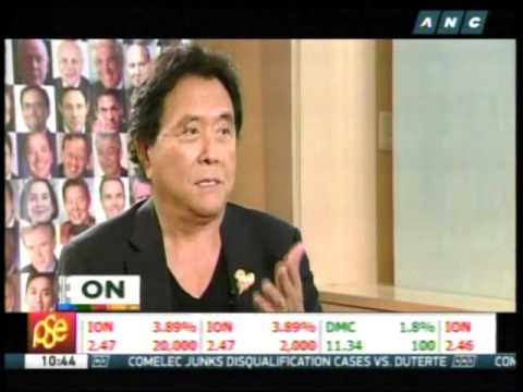 Kiyosaki: Saving money won't make you rich 1