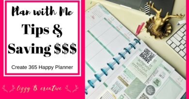 Plan with me | Tips & Saving $$$ | MAMBI Create 365 Happy Planner 3