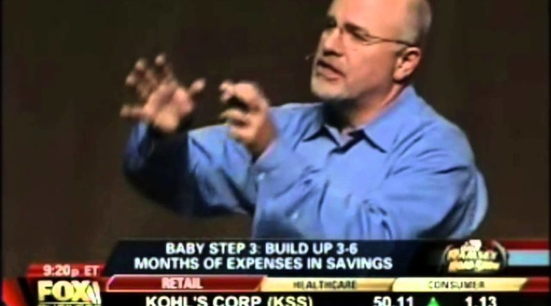 Dave Ramsey Live 7 Baby Steps 1