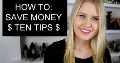 10 TIPS ON HOW TO SAVE MONEY $$ 4