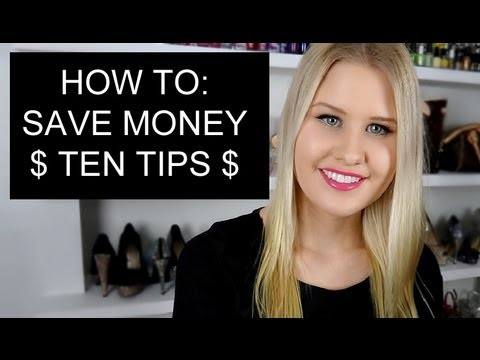 10 TIPS ON HOW TO SAVE MONEY $$ 1