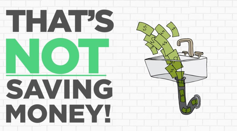 That's Not Saving Money! 1