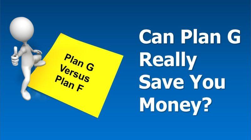 Medicare Supplement Plan G - A Money Saving Alternative To Plan F? 1