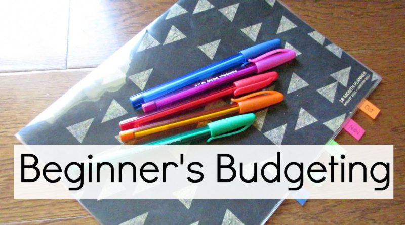 Budgeting for Beginners 1