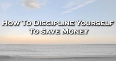 How To Discipline Yourself To Save Money 4