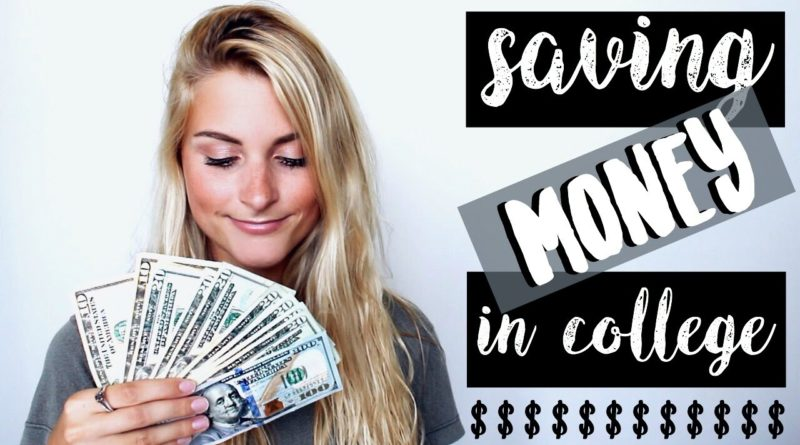 6 Ways to Save Money in College 1