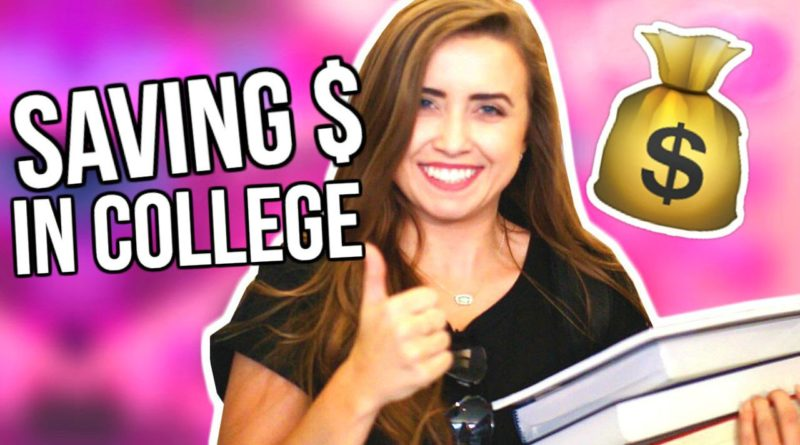 8 LIFE HACKS for SAVING MONEY in COLLEGE! | Back to School 2016 1