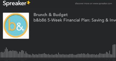 b&b86 5-Week Financial Plan: Saving & Investing (part 4 of 5) 4
