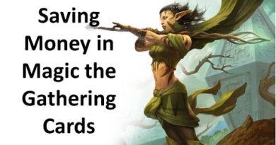 Saving Money in Magic the Gathering Cards? 2