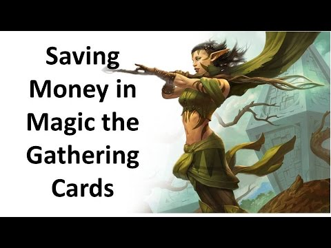 Saving Money in Magic the Gathering Cards? 1