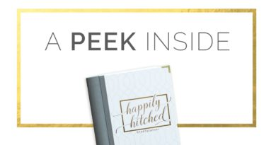 Happily Hitched Wedding Planner a Look Inside 2
