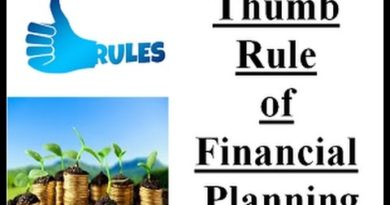Financial planning for better future  (Thumb Rules) 2