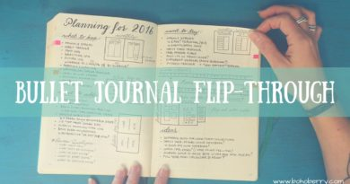 Bullet Journal Flip Through 4