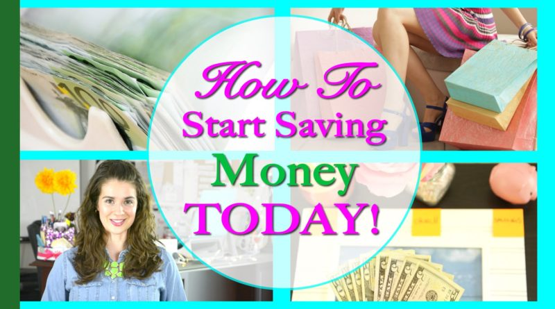 How To Start Saving Money Today - Use These Techniques 1