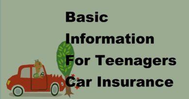 Basic Information For Teenagers Car Insurance | 2017 Teenage Car InsuranceTips 3