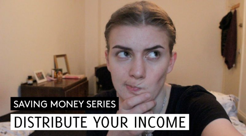 How To Distribue Your Income // Saving Money #2 // Minimalism & Money 1