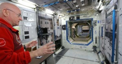 International Space Station Tour on Earth (1g) - Smarter Every Day 141 4