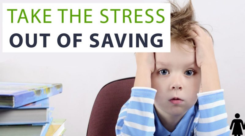 5 Keys to Take the Stress Out of Saving Money 1