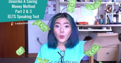 IELTS Speaking Part 2&3 #5: Describe A Saving Money Method 3