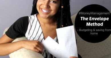 "Budgeting & Saving Money From Home ""Envelope Method"" 4"