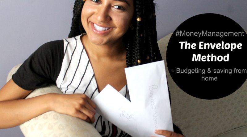"Budgeting & Saving Money From Home ""Envelope Method"" 1"