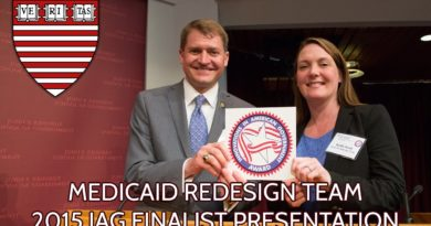 Medicaid Redesign Team 2015 Innovations in American Government Awards Finalist Presentation 2