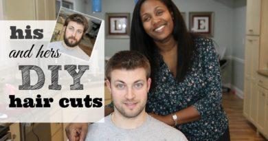 DIY Hair Cut | Saving Money By Cutting Each Other's Hair 3