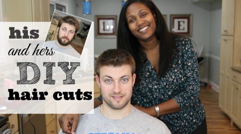 DIY Hair Cut | Saving Money By Cutting Each Other's Hair 1