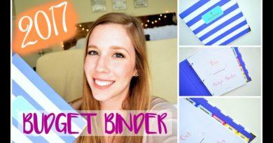 Our 2017 BUDGET BINDER! || Life With Sarah 3
