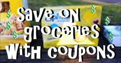 Saving Money on Groceries with Coupons! 3